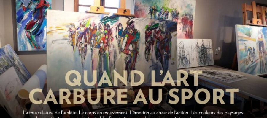 Quand l'art carbure au sport